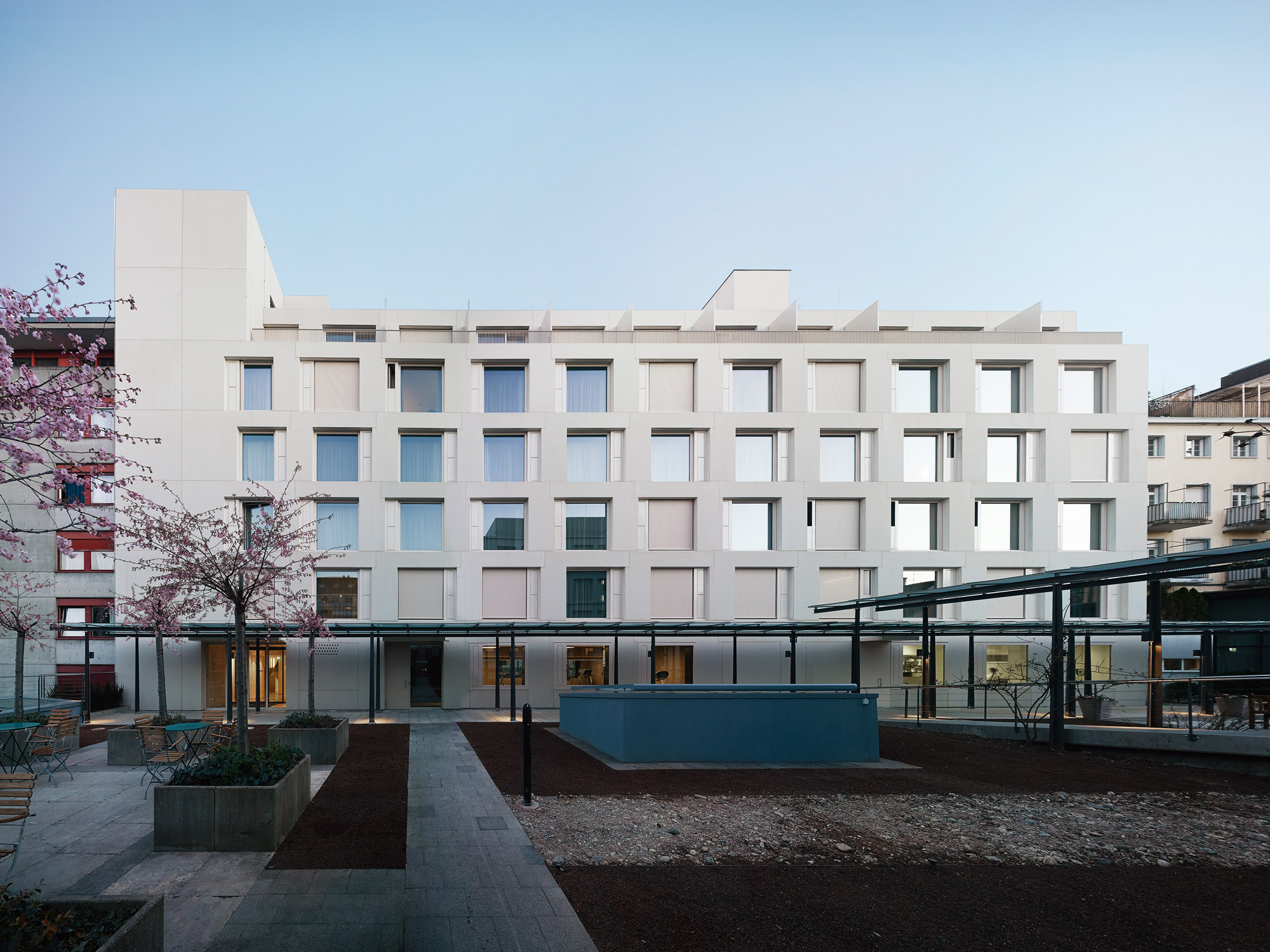 Europe Basel Burkard Meyer Architekten Baden Architekten